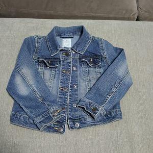 Gently Used Faded Denim Jacket